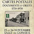 Exposition cartes postales