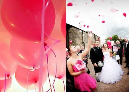 lcher de ballons - Lacher De Ballons Mariage