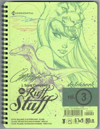 j scott campbell ruff stuff vol 3