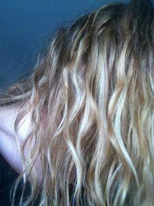 Cheveux routine jour 2