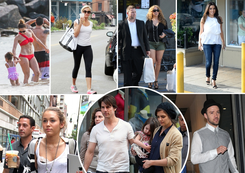 Montage photos de paparazzis