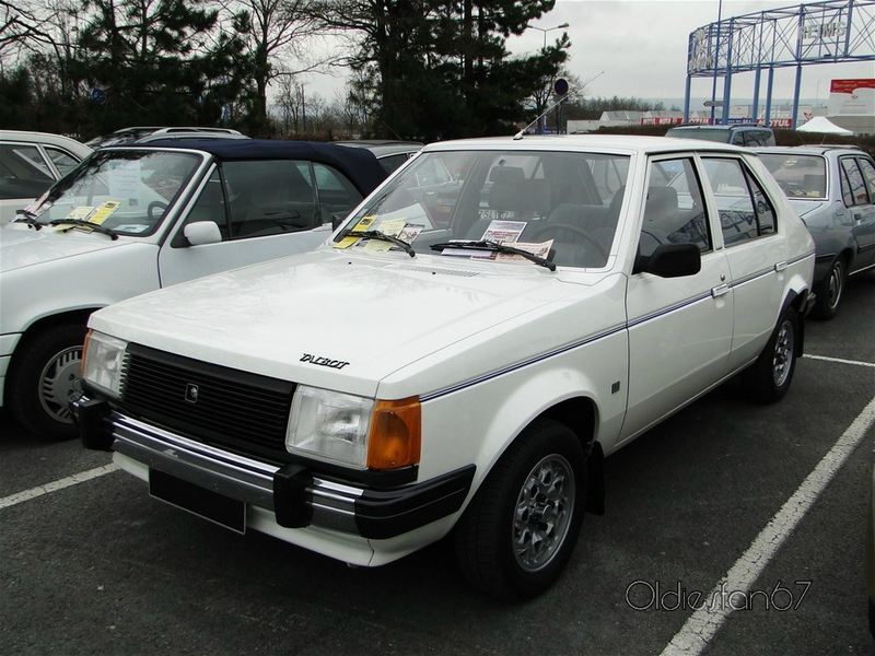 chrysler simca talbot horizon 1,1 ls 1980 a