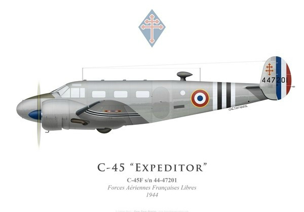 c-45f-expeditor-forces-aeriennes-francaises-libres-1944