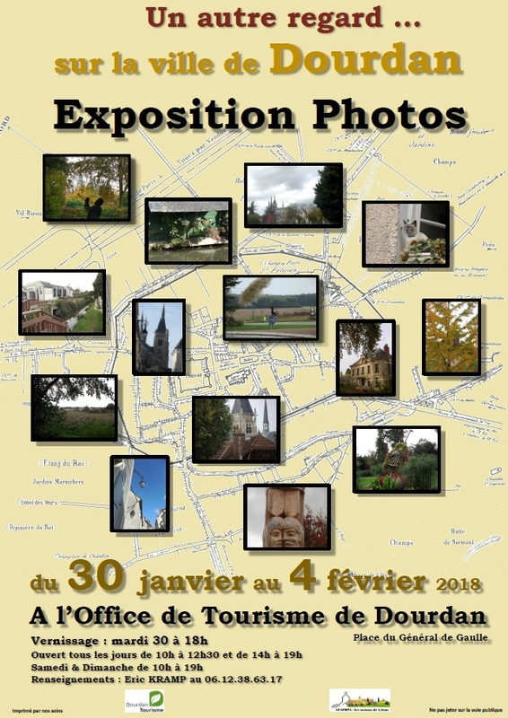 Expo photo dourdan affiche