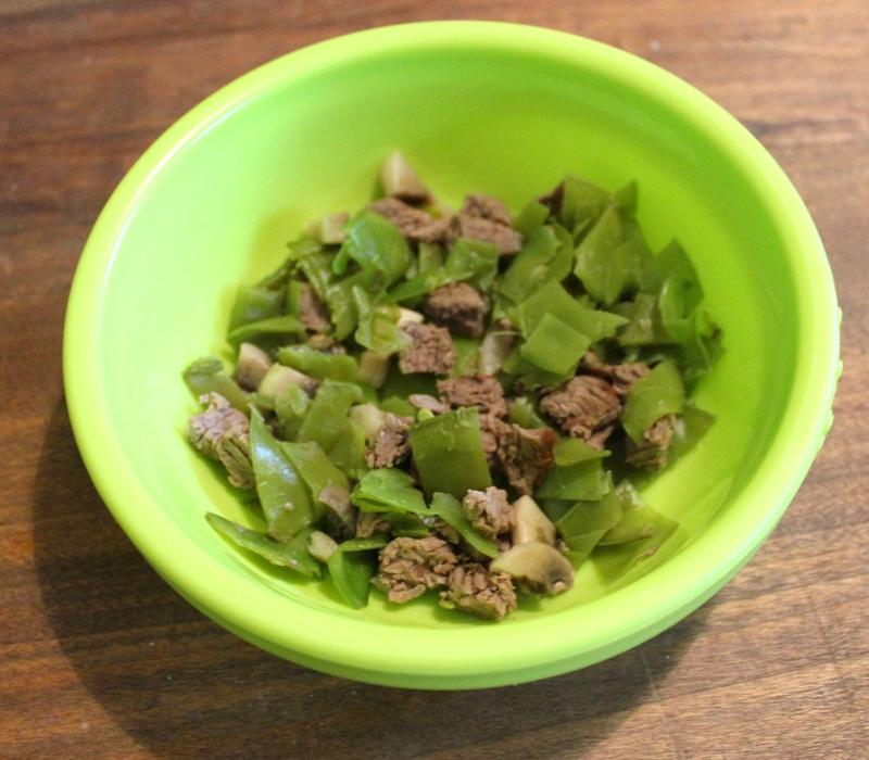 Petit pot boeuf champi haricots plats