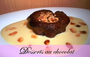 desserts au chocolat