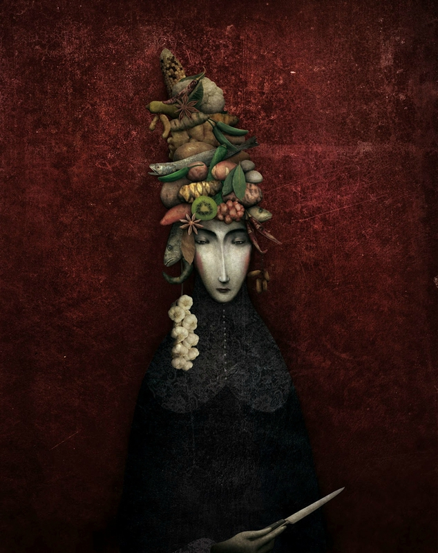 Gabriel Pacheco 1973 - Mexican Surrealist Visionary painter - Tutt'Art@ (66)