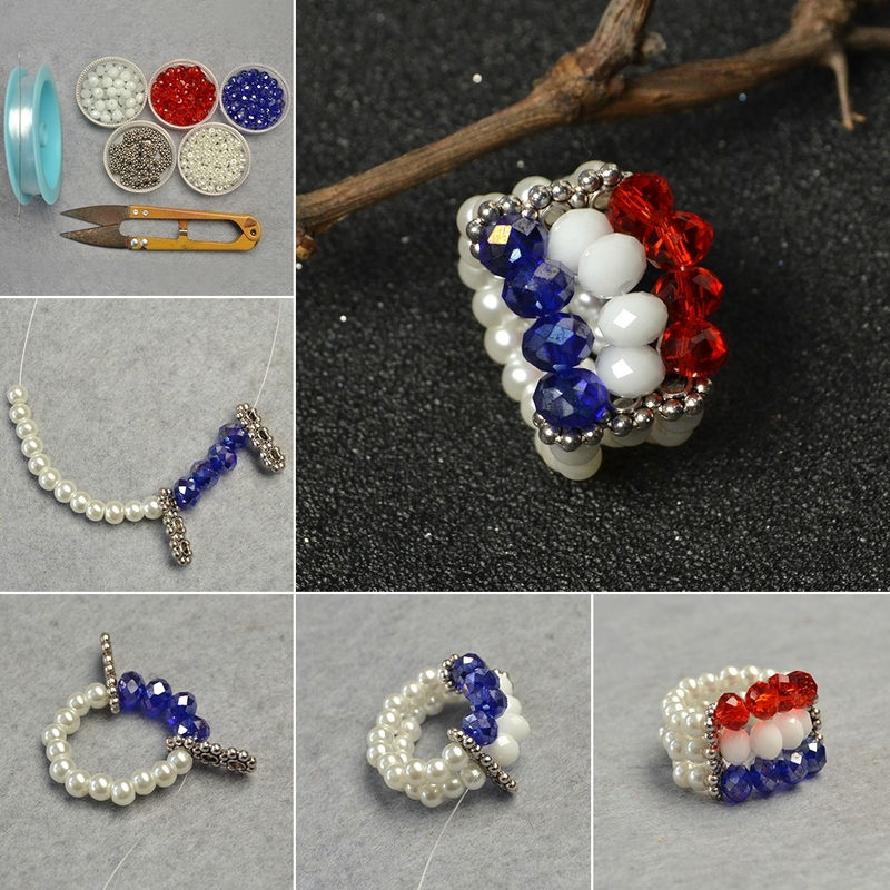 1080-Easy-Tutorial-on-Three-color-Glass-Bead-Ring