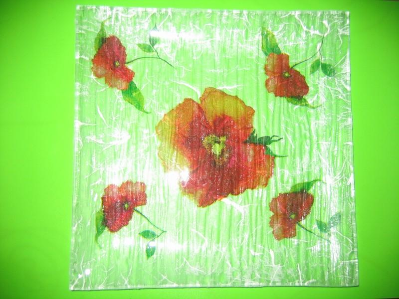 collage de serviette sur verre par magalie photo de vos. Black Bedroom Furniture Sets. Home Design Ideas