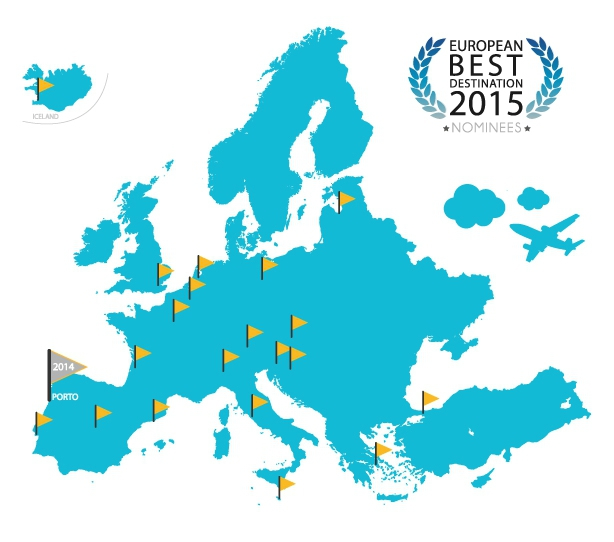 European best destination 2015 bordeaux