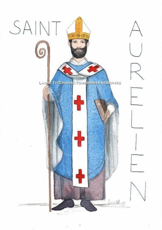 Saint Aurélien, évêque de Limoges