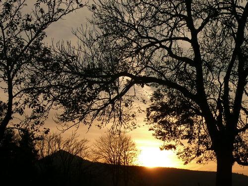 2008 10 17 Le coucher du soleil