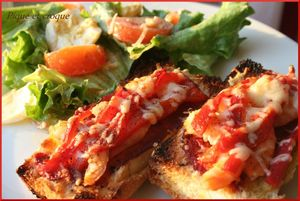 crostini crevettes poivron cuit 2