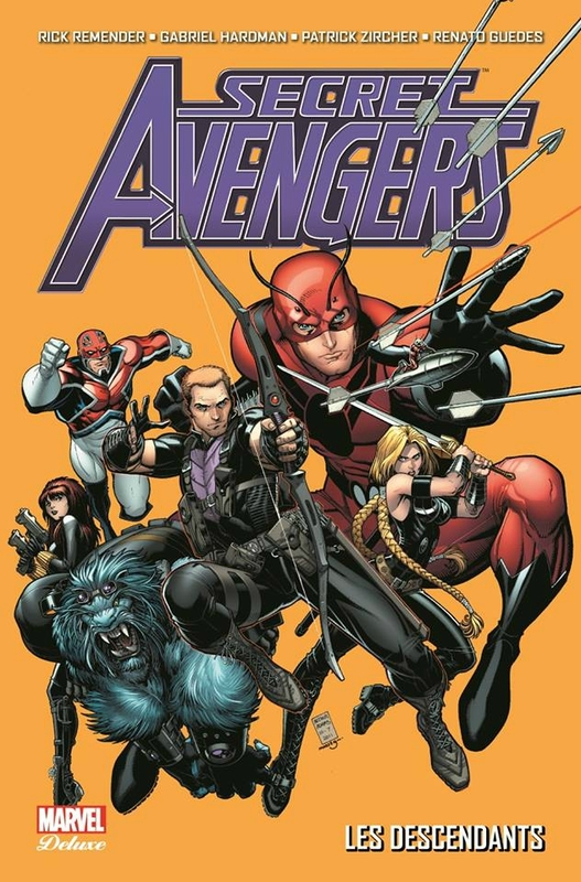 marvel deluxe secret avengers par remender 01