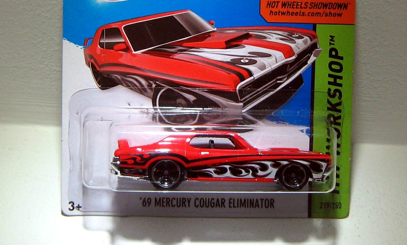 Mercury cougar eliminator de 1969 (Hotwheels 2014)