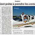 Portrait d'une jeune pilote