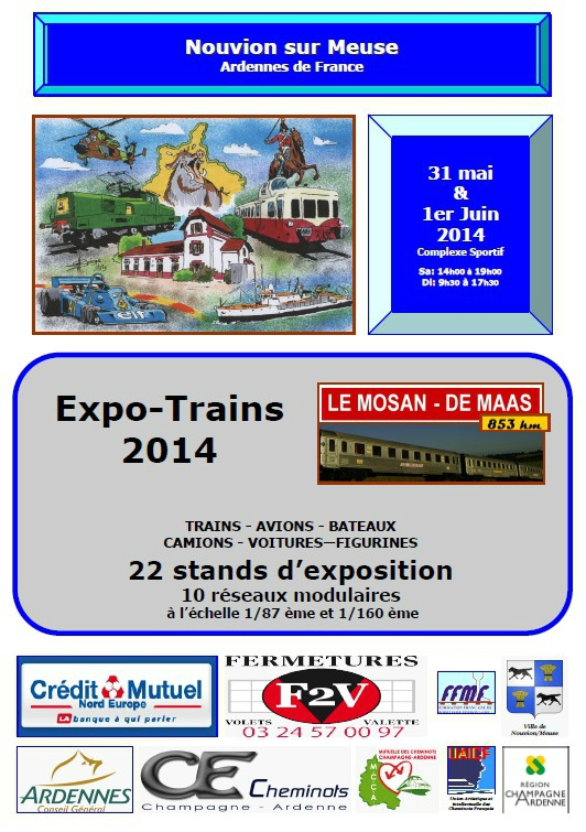 EXPO TRAINS 2014