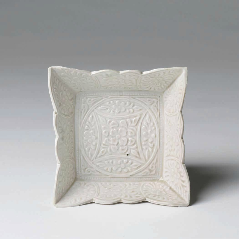 Ding Ware Square Bowl, Five Dynasties Period, 907 – 960 A