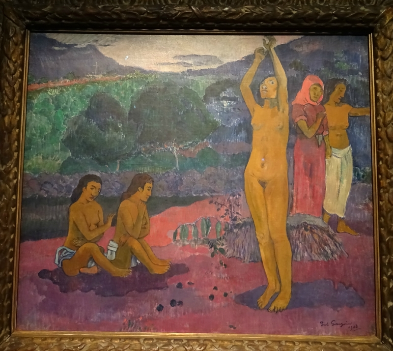 Gauguin L'invocation 1903