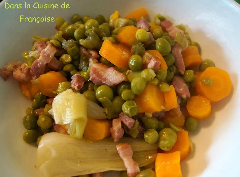 Petits pois cuisson la cocotte minute dans la cuisine - Cuisson courgette cocotte minute ...