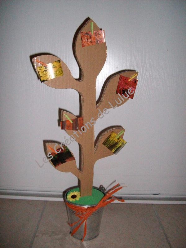 L'arbre à photos