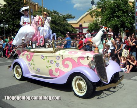 Ford convertible de 1934 (Eurodisney) 01