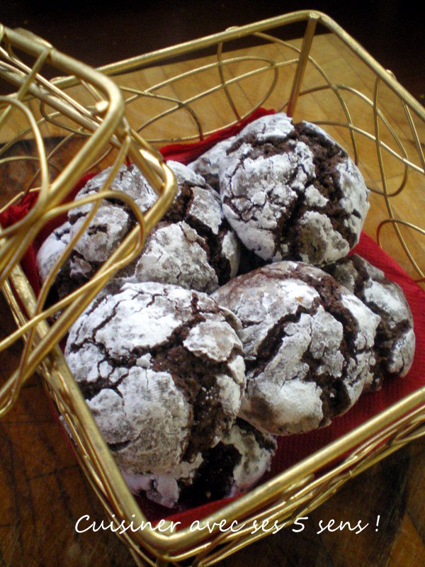 biscuits craquel s au chocolat cuisiner avec ses 5 sens. Black Bedroom Furniture Sets. Home Design Ideas