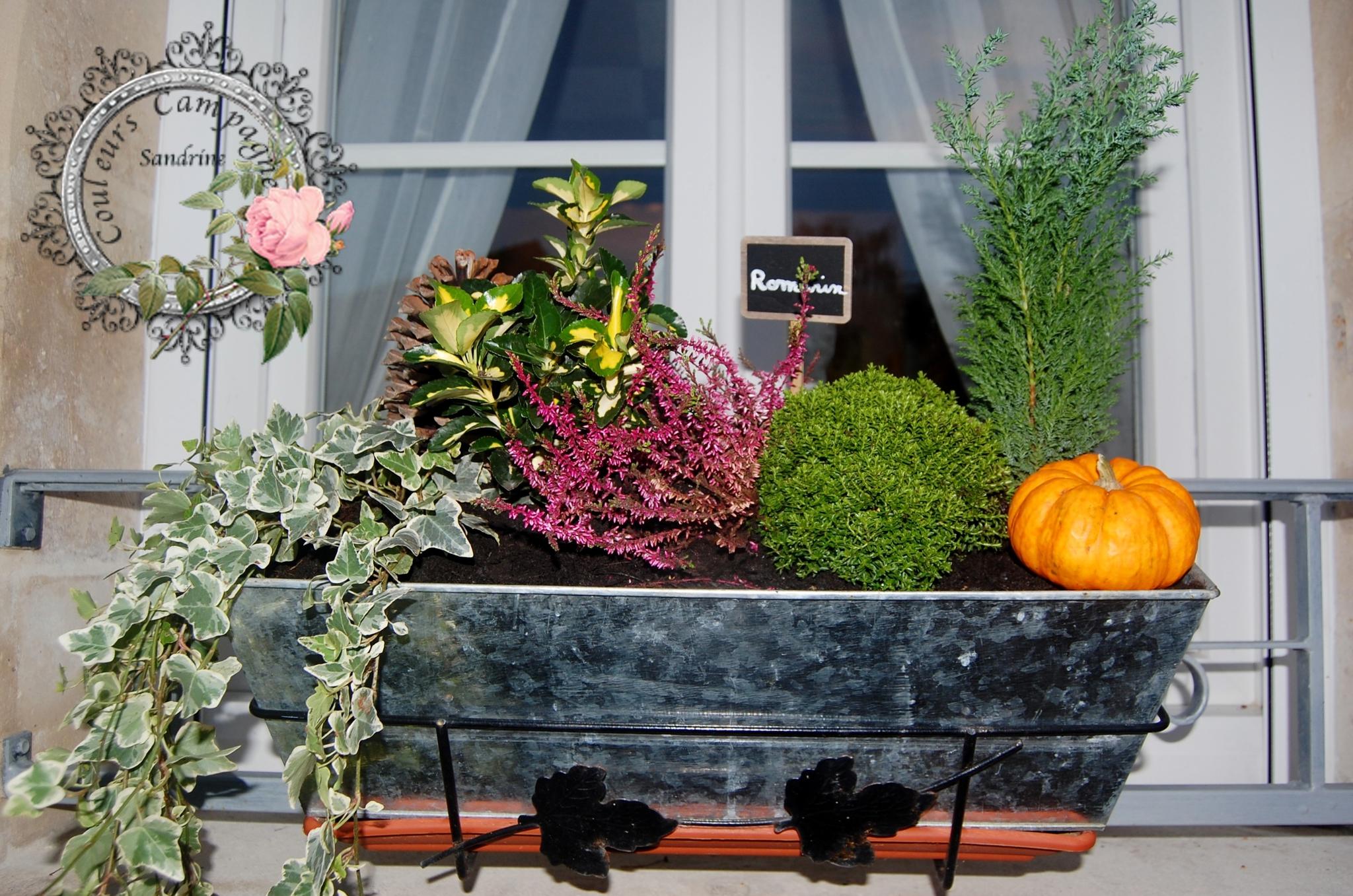 L 39 automne est l bidouilles et patines et for Jardiniere d automne