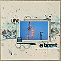 Love street art pour bac to scrap