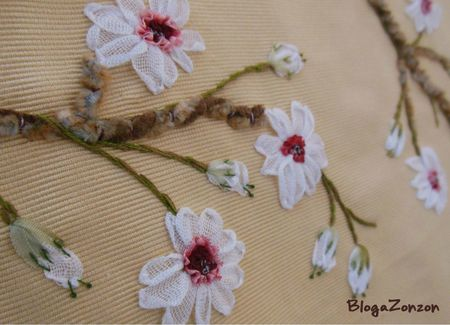 sakura ribbon embroidery