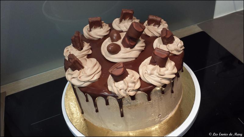 Layer cake kinder bueno 3