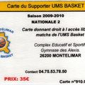 Carte supporters