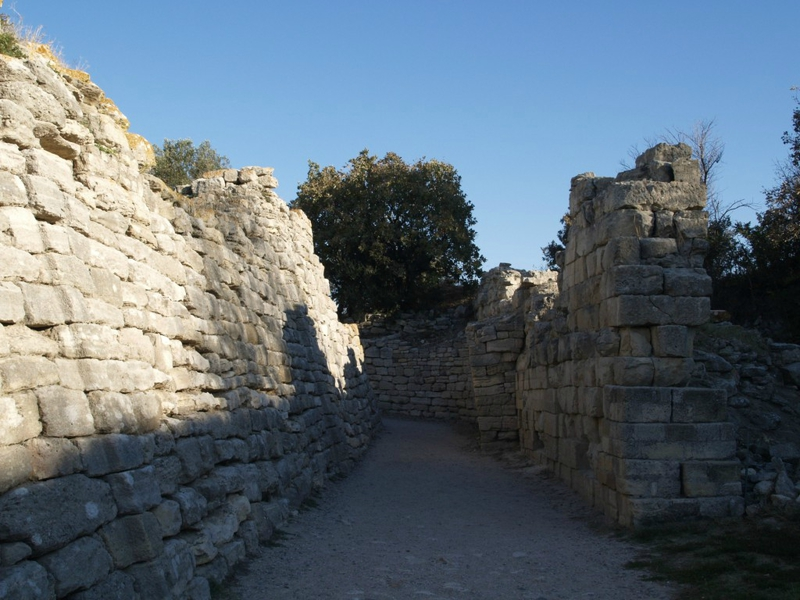 42 Fortifications de Troie