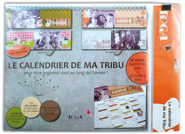 kit calendrier