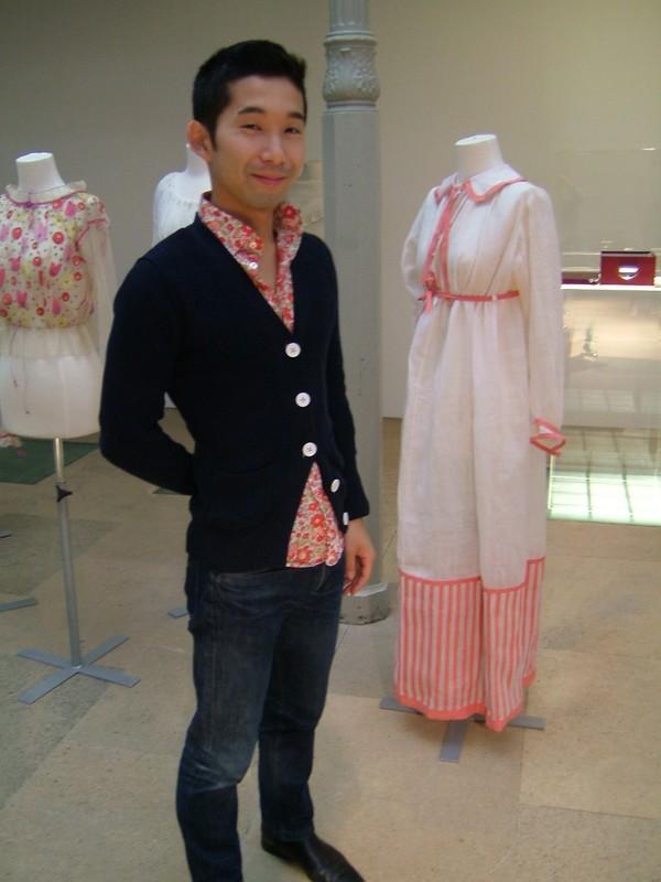 Yasu, étudiant au Studio Berçot