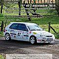 Rallye du pays vannier 2014 [annule]