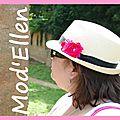 Château ... et chapeau fleuri ...