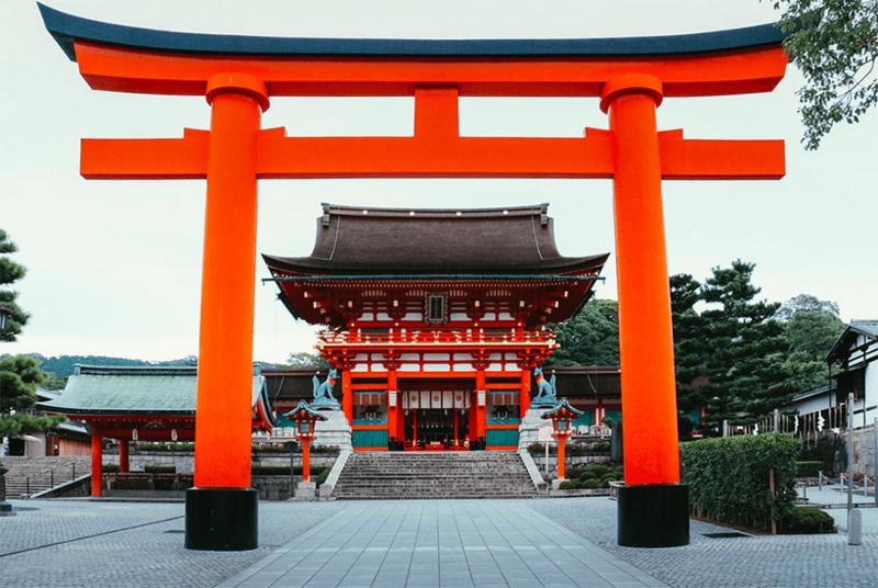 Fushimi-Inari-romon-gate