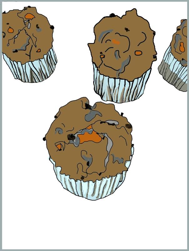 cadre muffins salés