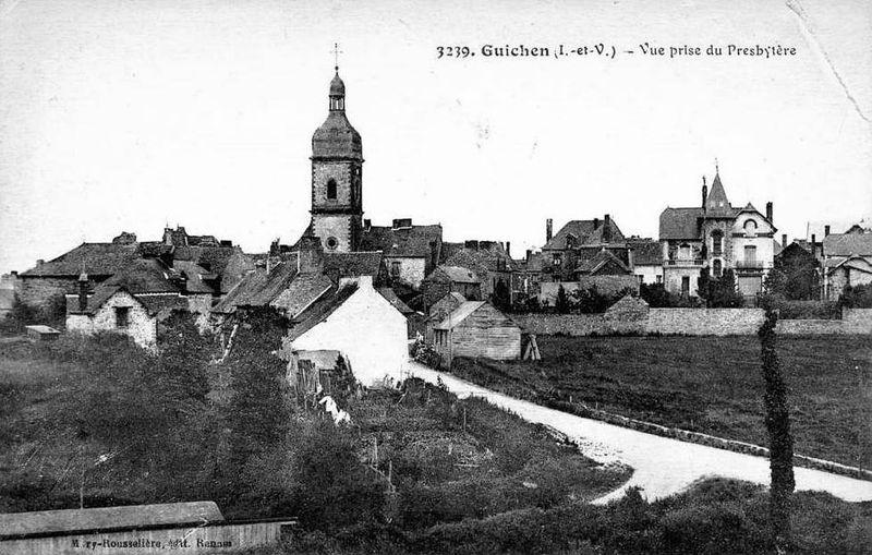 Guichen, église Saint Martin