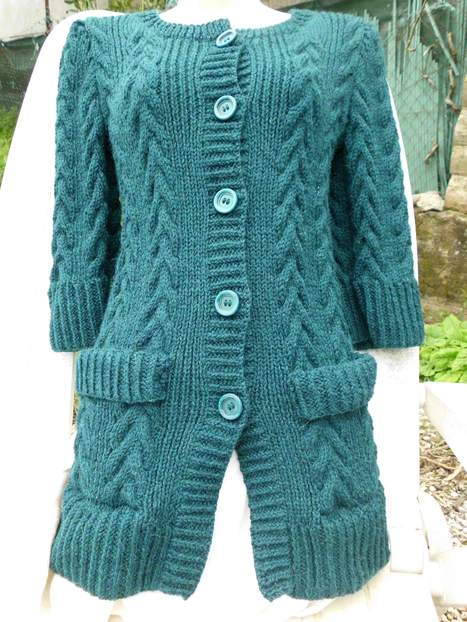Mod le tricot gilet facile - Modele mitaine tricot facile ...