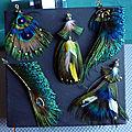 Art avec des plumes
