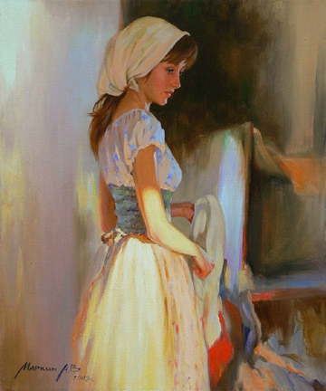 laundress_60x50_oil_canvas_2005_big