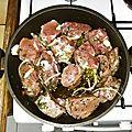 Filets mignons de porc a la sauce tomate et a la tapenade noire sans gluten, sans lait