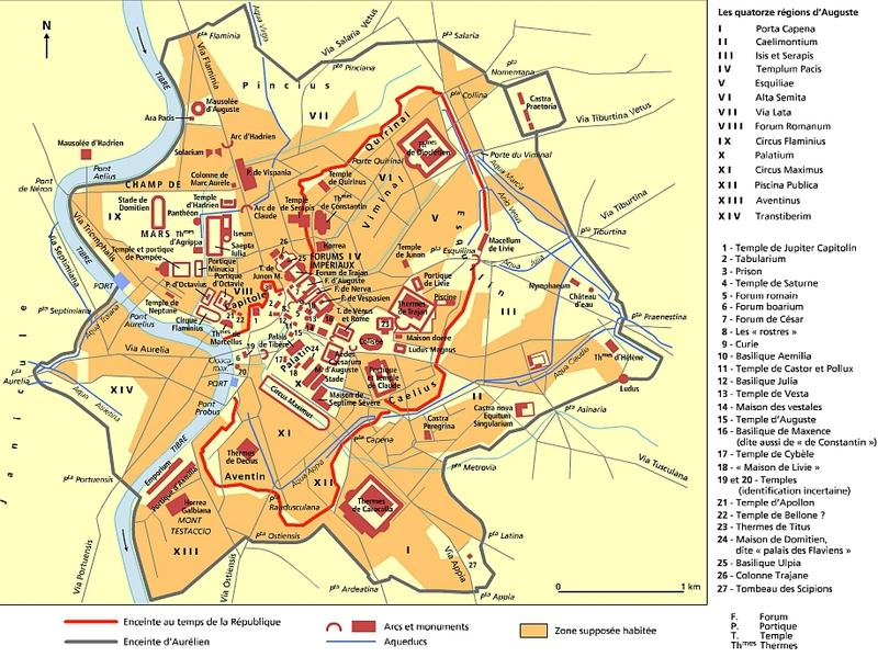 Rome sous l'Empire (Larousse)