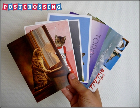 cartes postcrossing