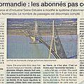Trop cher pont de normandie!