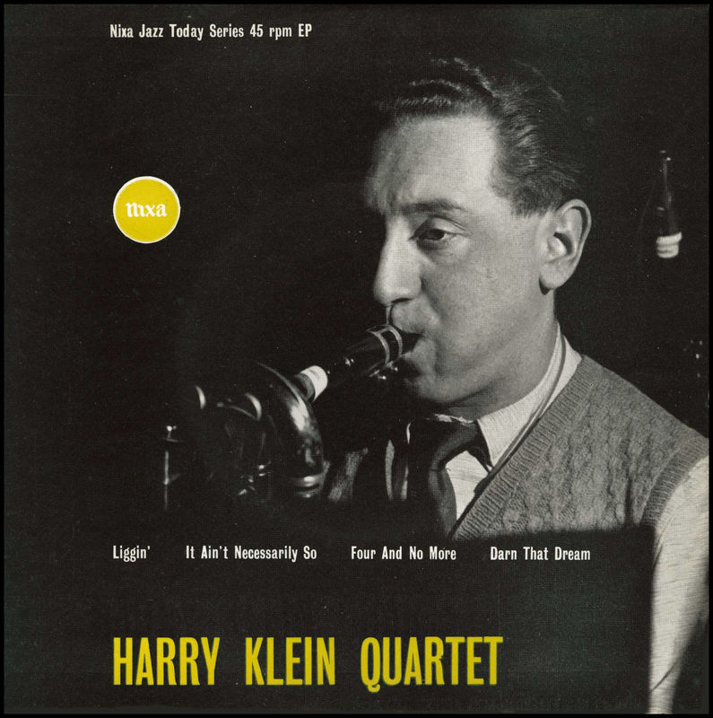 <b>Harry Klein</b> Quartet - 1955 - <b>Harry Klein</b> Quartet (Nixa) - 56751534