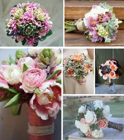 Wedding_bouquets_using_succulents_Primadonnabride_co__za_