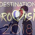 Présentation des participants à destination eurovision : max cinnamon - ailleurs